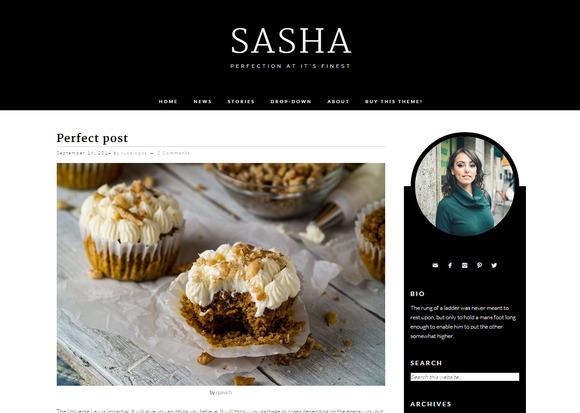 Sasha Classic Wordpress Theme