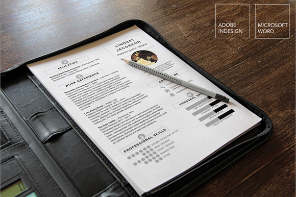 Designer Resume Template 2 Piece