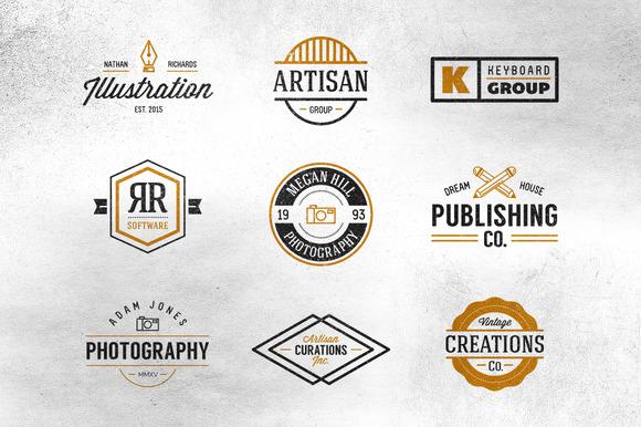 Vintage Creative Industry Logos