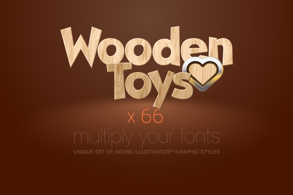 AI CS5 Graphic Styles Wooden