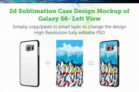 GalaxyS6 2d Sublimation Angle Mockup