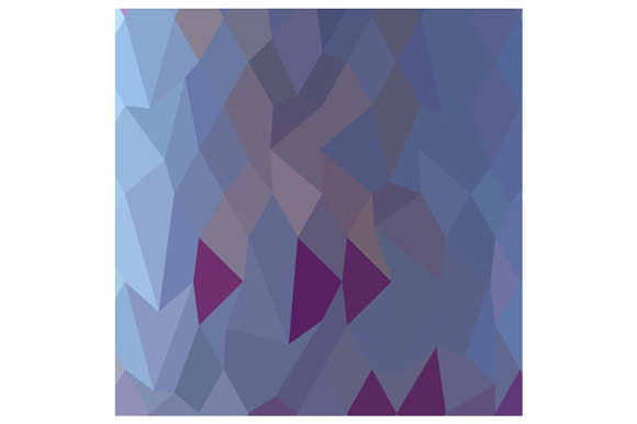 Pastel Purple Abstract Low Polygon B
