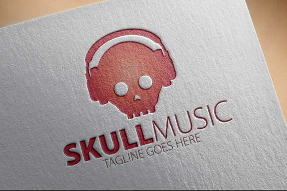 Skull Music Logo