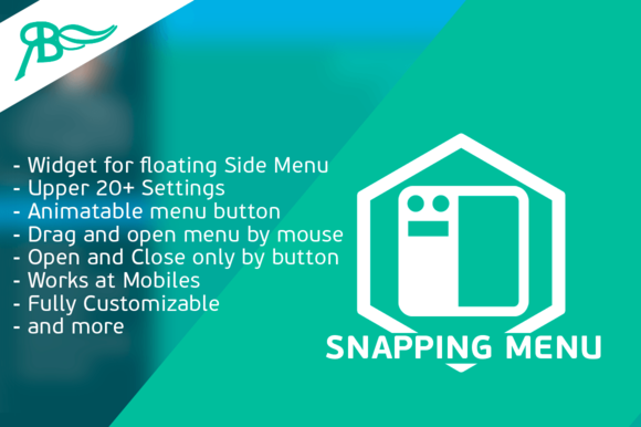 Snapping Menu For Adobe Muse