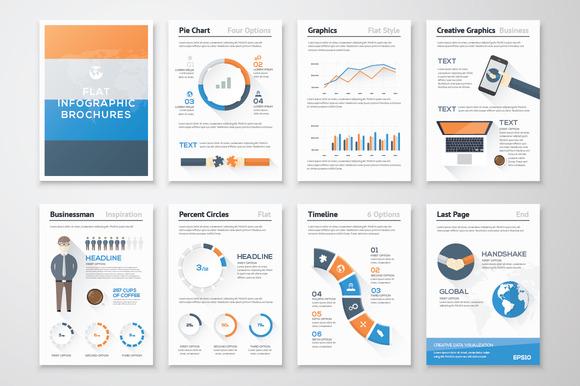 Infographic Brochure Elements 13