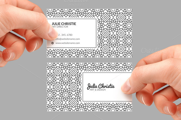 Vintage Business Card 49