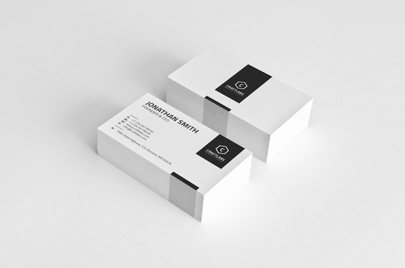 Simple Corporate Business Card 24