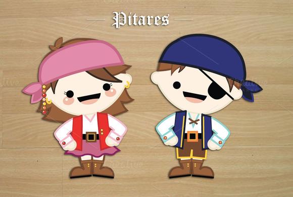 Sweet Vector Pirates