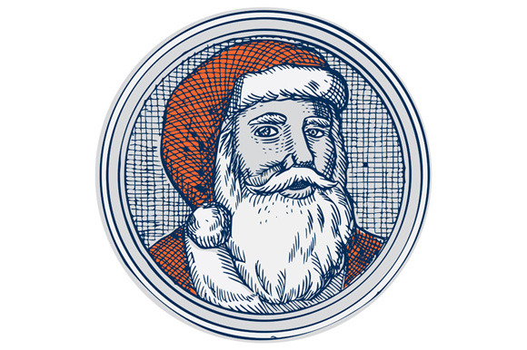 Santa Claus Father Christmas Vintage