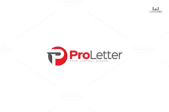 Pro Letter Letter P Logo
