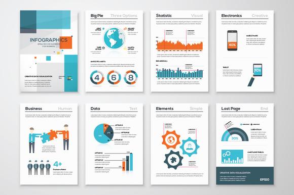 Infographic Brochure Elements 14