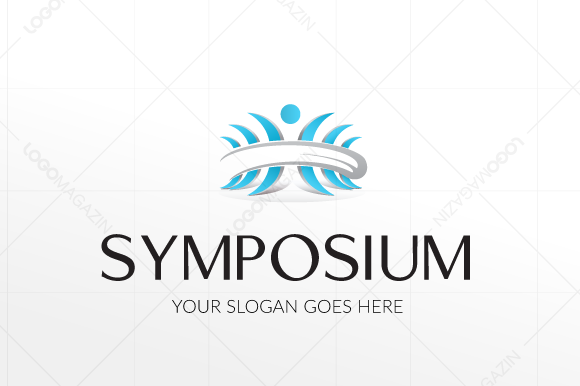 Symposium People Logo Template