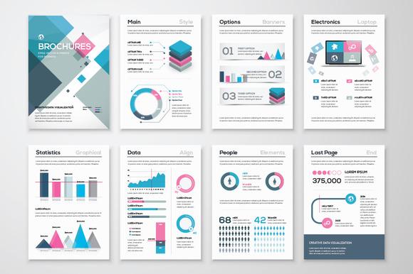 Infographic Brochure Elements 15