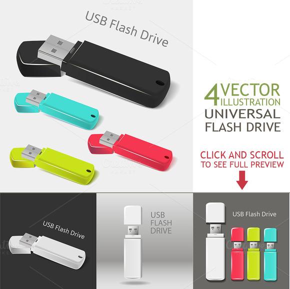 Universal Flash Drive