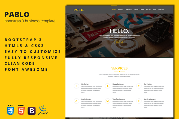 Pablo Business Template