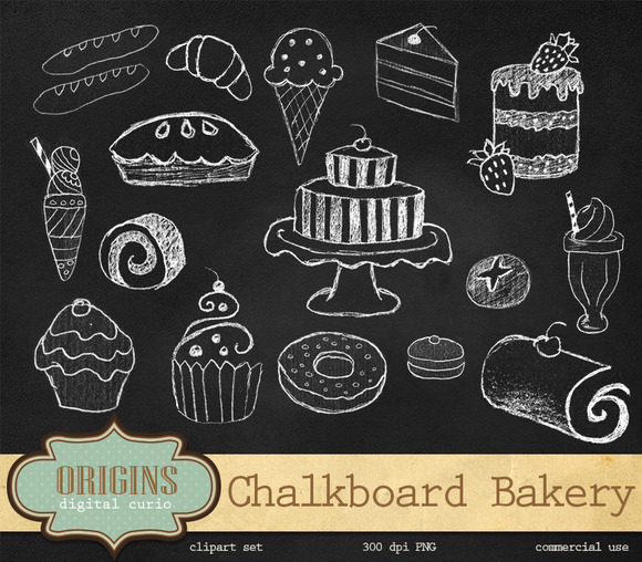 Bakery Desserts Clipart