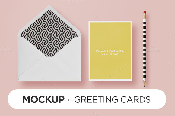 Mockup HappyChic Card Envelope