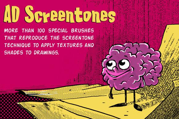 AD Screentones