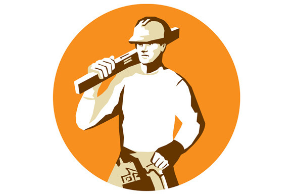 Builder Construction Worker Spirit L