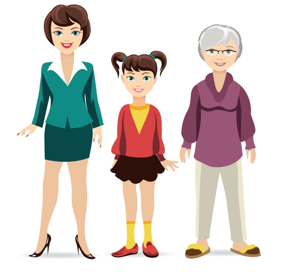 Three Ages Of Women