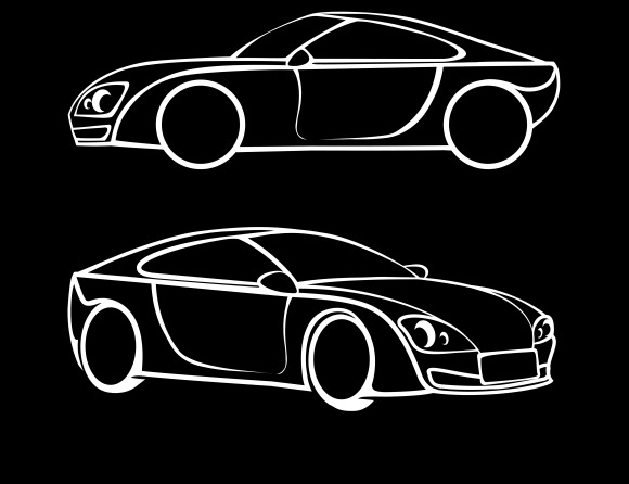 Vector Car Silhouettes