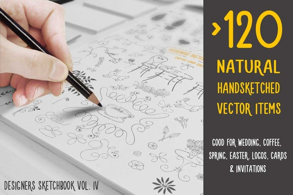 Finest Natural Handsketched Vectors