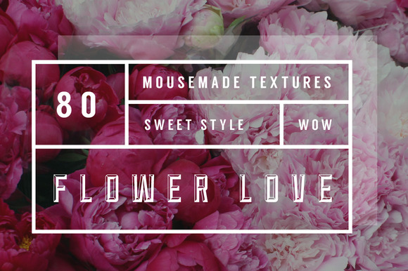 80 Flower Texture Backgrounds