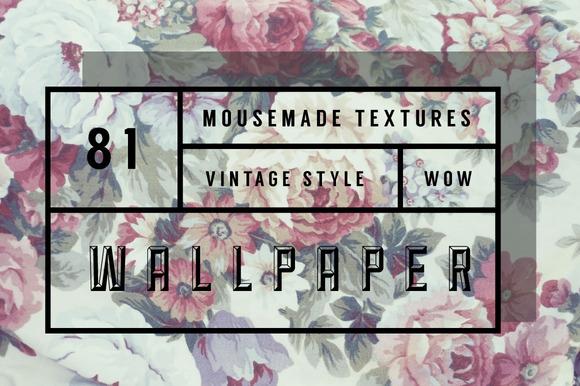 81 Vintage Wallpaper Textures