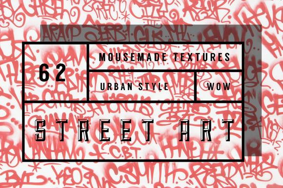 62 Graffitti Street Art Textures