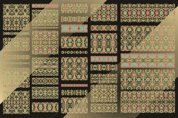 Set Of Decorative Ribbons