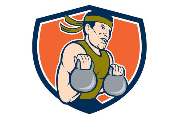 Strongman Lifting Kettlebell Crest C