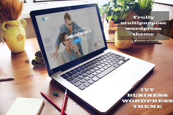 Ivy Business WordPress Theme