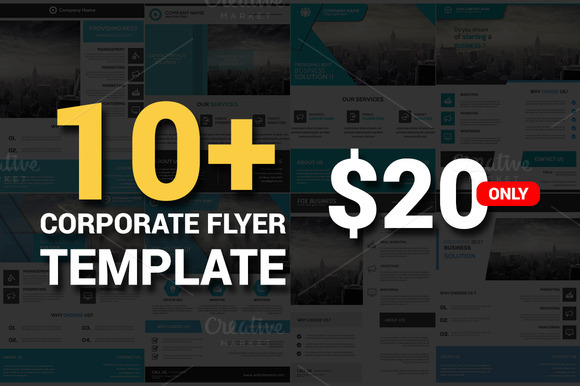 11 Corporate Flyers Bundle