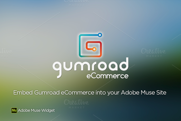 Gumroad ECommerce Adobe Muse