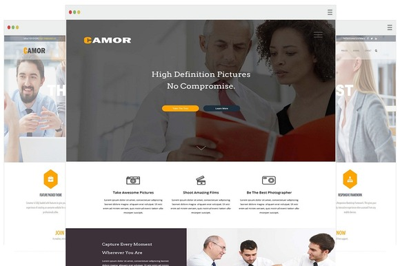 Conamor-Responsive WordPress Theme