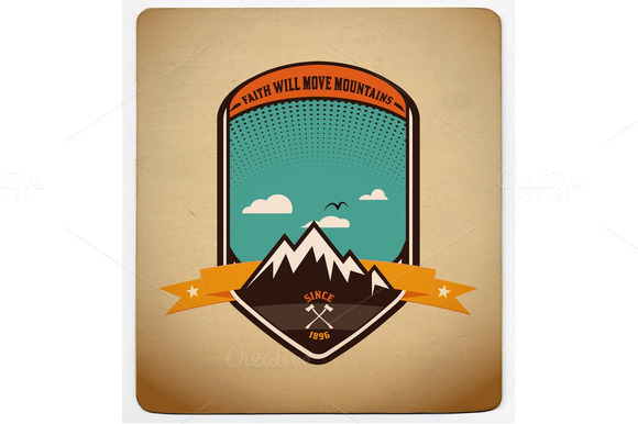 Adventure Badge Graphic Design