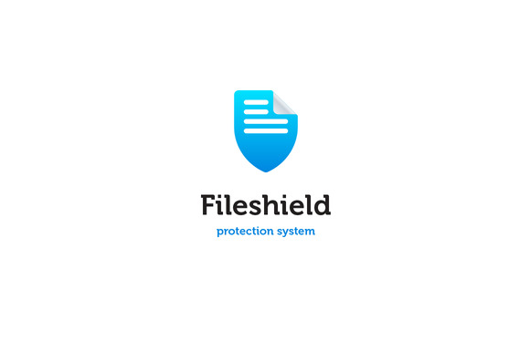 Fileshield Logo Template
