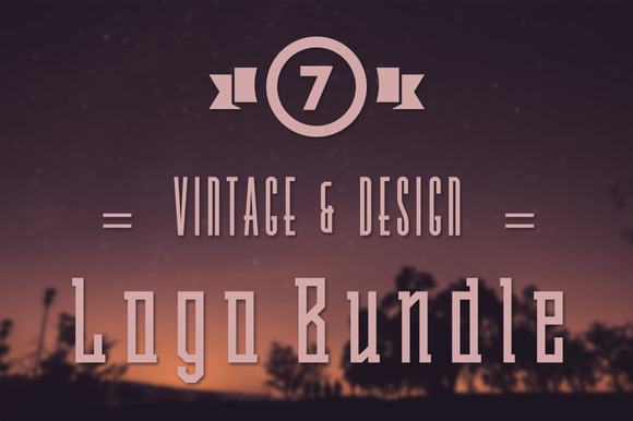 Vintage Design Logo Bundle
