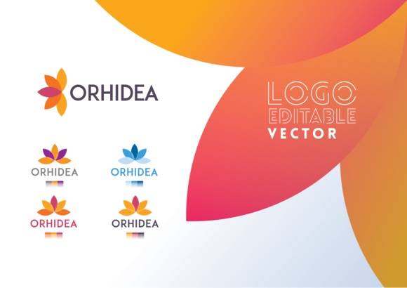 Orhidea Business Vector Logo