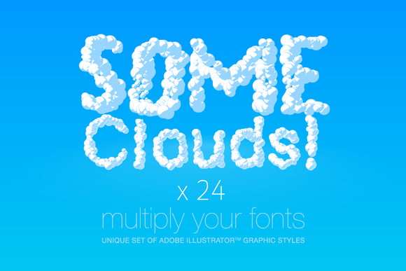 AI CS5 Graphic Styles Clouds