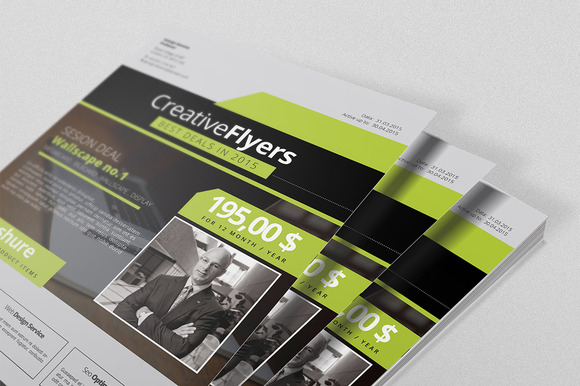 Promotion Business Flyers