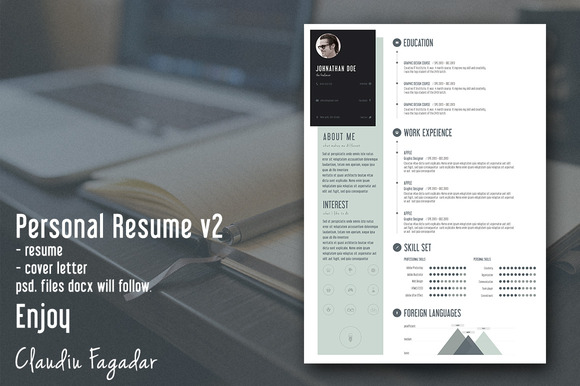 Creative Personal Resume The 2nd