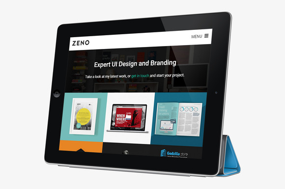 ZENO Simple WordPress Portfolio