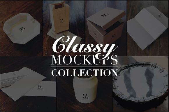 Classy Mockups Collection