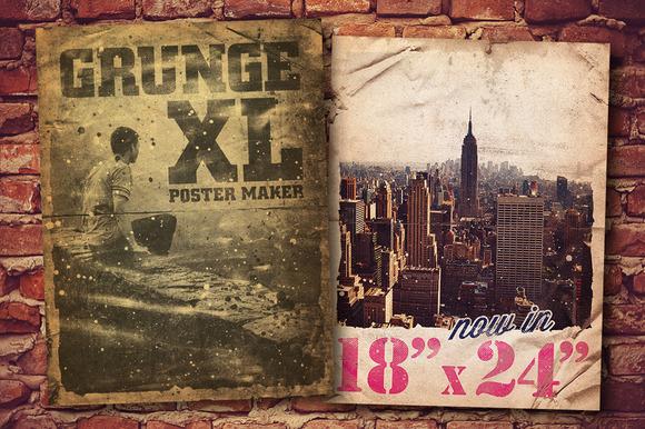 Grunge Poster Maker XL 18 X 24