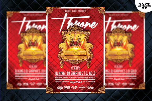 KING ROYAL Flyer Template