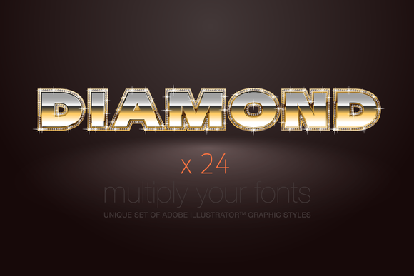 AI CS5 Graphic Styles Diamond