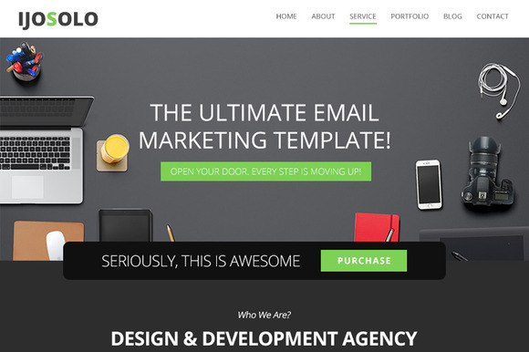 Ijosolo Email Newsletter Template