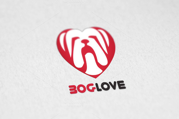 Dog Boglove Logo Template