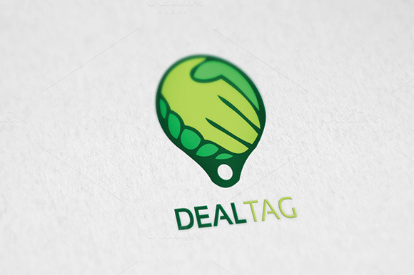 DEALTAG Logo Template